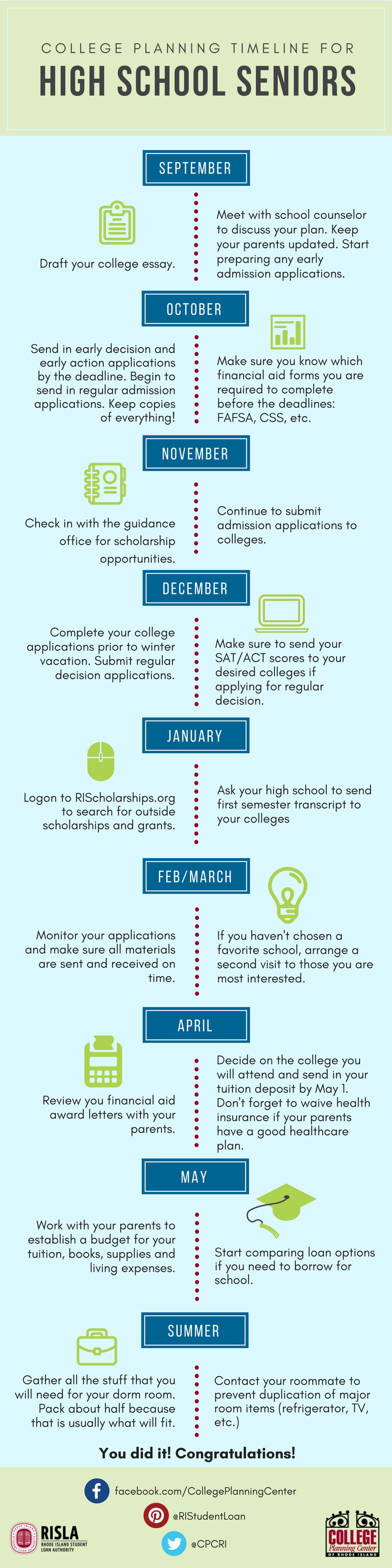 College Planning for High School Seniors